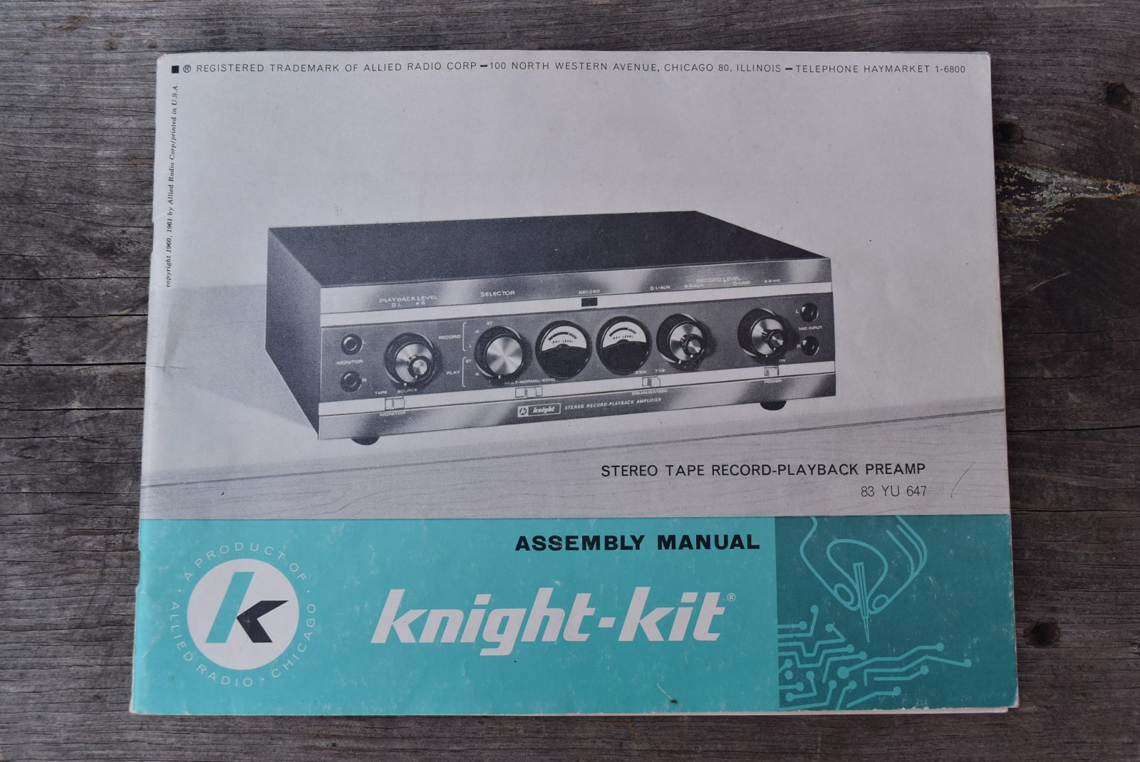 Knight Stereo Tube Preamp - Model: KP-70