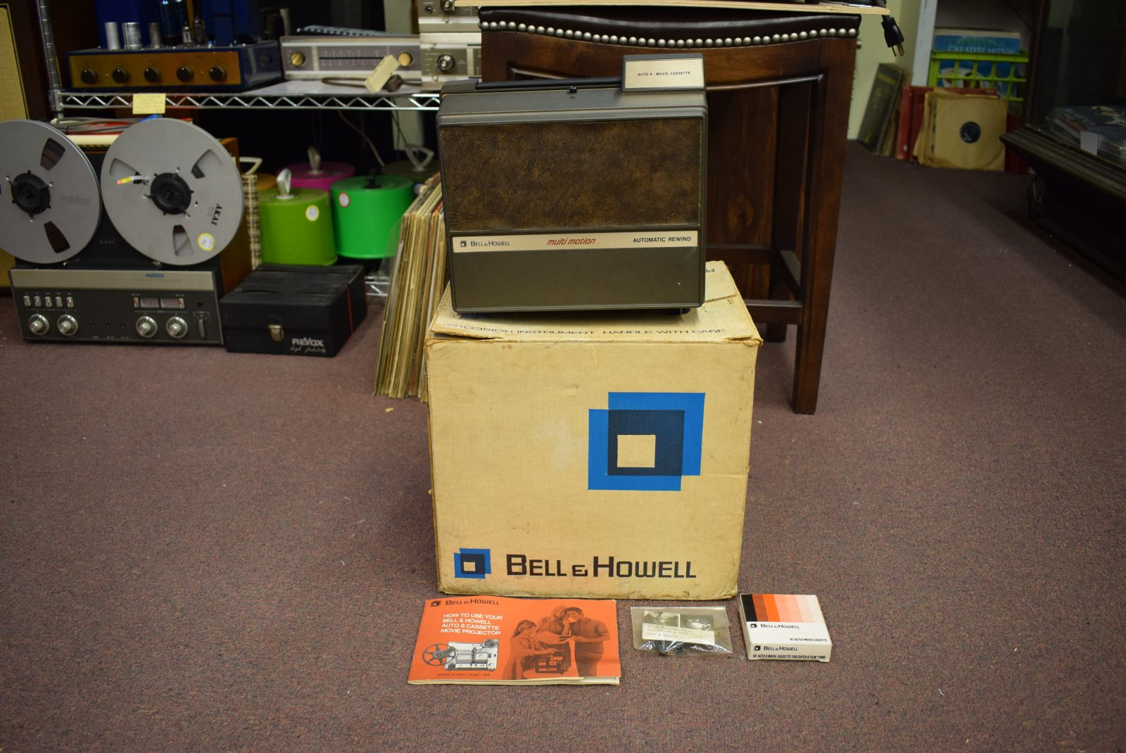 Bell & Howell 8 MM Projector - Model: 469A