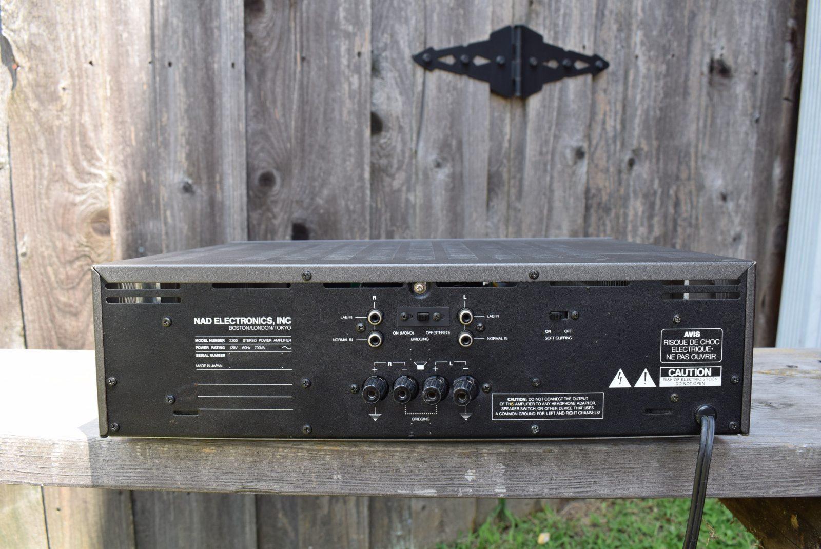NAD Stereo Power Amp - Model: 2200